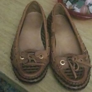 Aerin driving loafers size 5